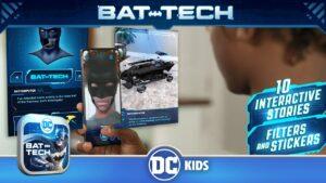 วิถีการใช้อุปกรณ์ของแบทแมน เกม DC Batman Bat-Tech Edition